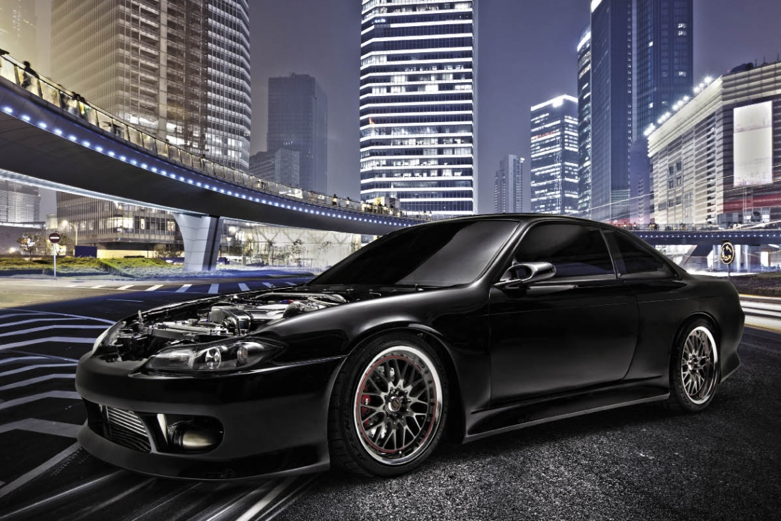 Black Mamba: 1995 Nissan Silvia Spec GT-R