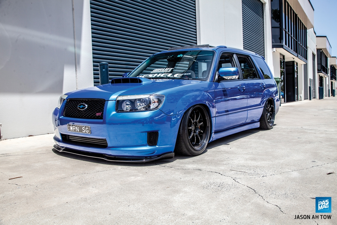 Unconventional: Clayton Pallister's 2006 Subaru Forester