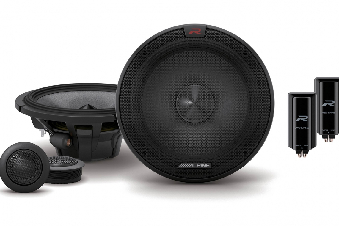 "Alpine R-S65C.2 6.5"" Component 2-Way Speakers"