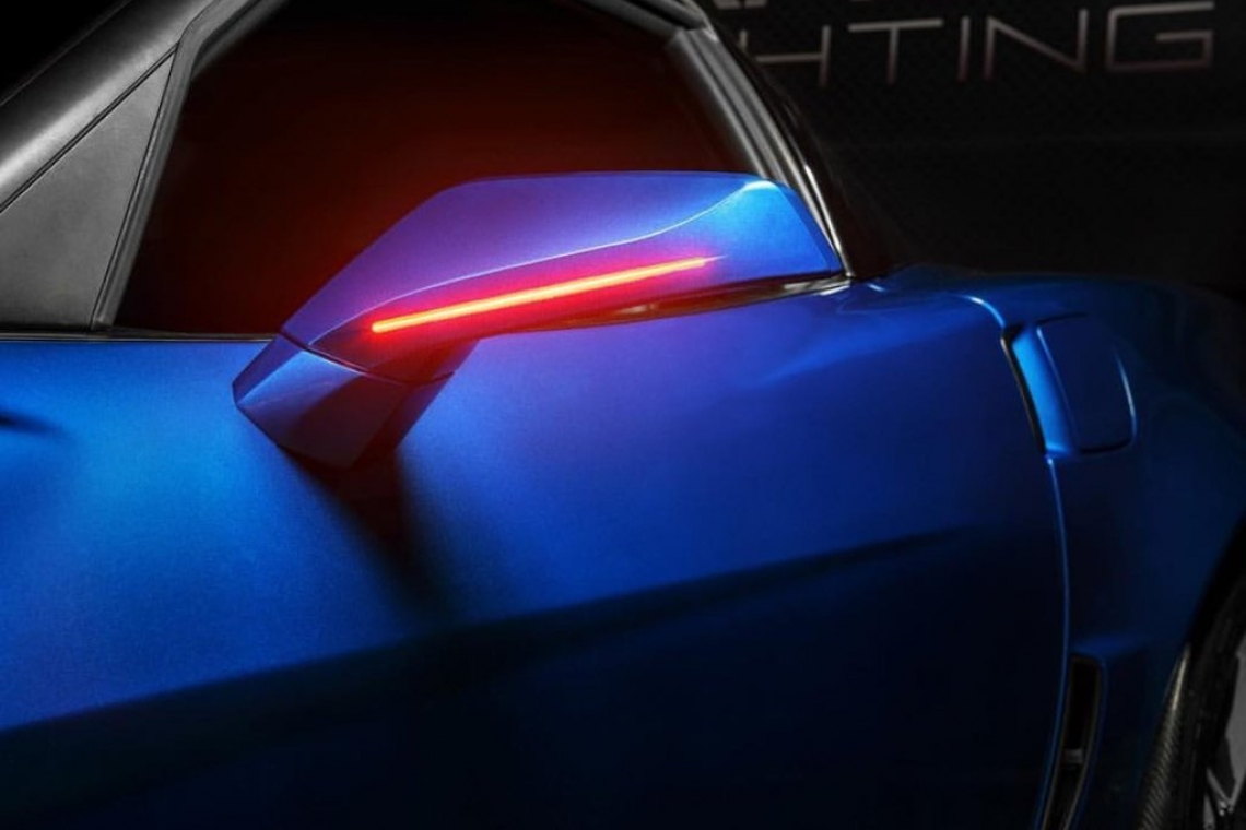 Oracle Lighting Features New Chevy Corvette C6 Concept Side Mirrors at SEMA 2019