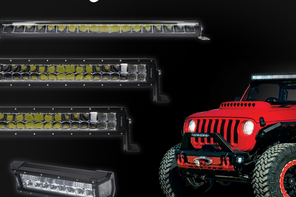 Heise Introduces Four New Lightbar Styles at the 2019 SEMA Show