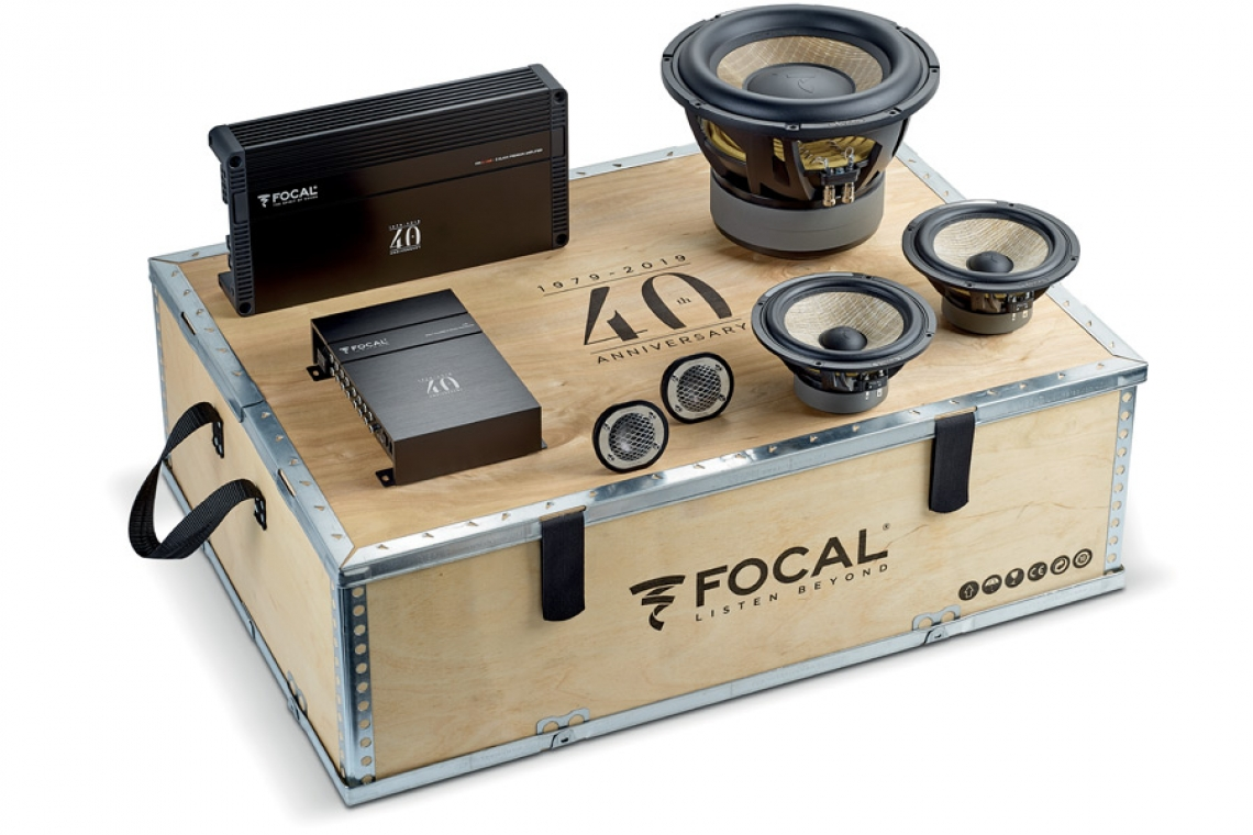 Focal F40th Celebrates 40 Years of Excellence in Your Car