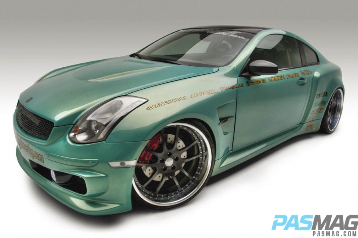 Global Domination Han Wong S 2004 Infiniti G35 Coupe Pasmag Is The Tuner S Source For Modified Car Culture Since 1999
