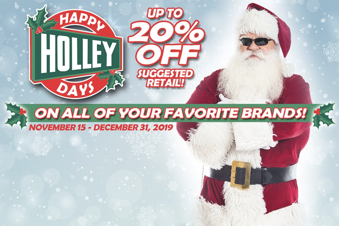 Happy Holley Days: Gearhead Gift Ideas!