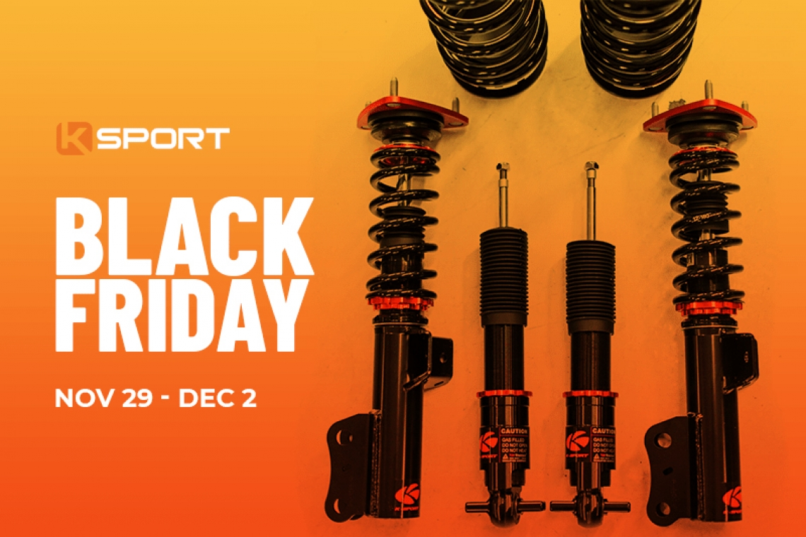 Black Friday Discounts at Ksport Are Coming Soon