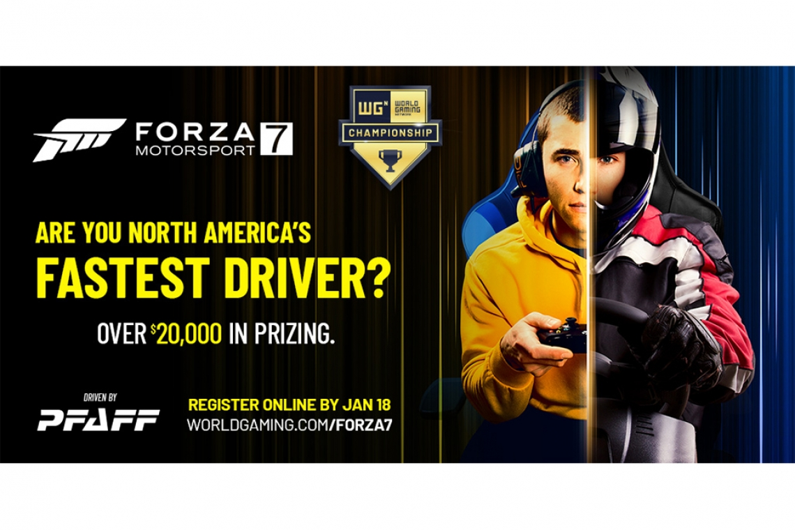 Forza Motorsport 7 WorldGaming Network North American Championship to be held Live at the 2020 Canadian International AutoShow