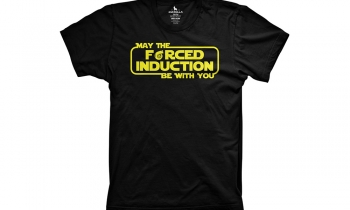 Star Wars x JDM: Forced Induction T-Shirt