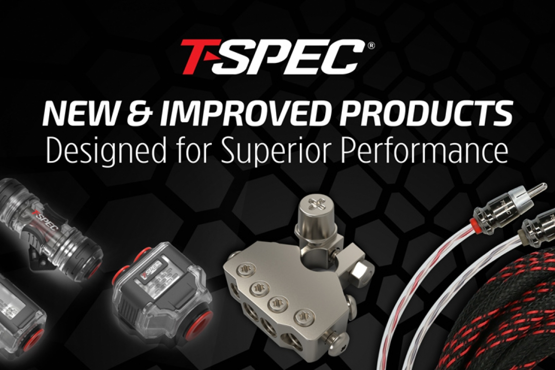 T-SPEC® Launches Premium Brass Core Accessories and Improved RCA Cables at CES 2020