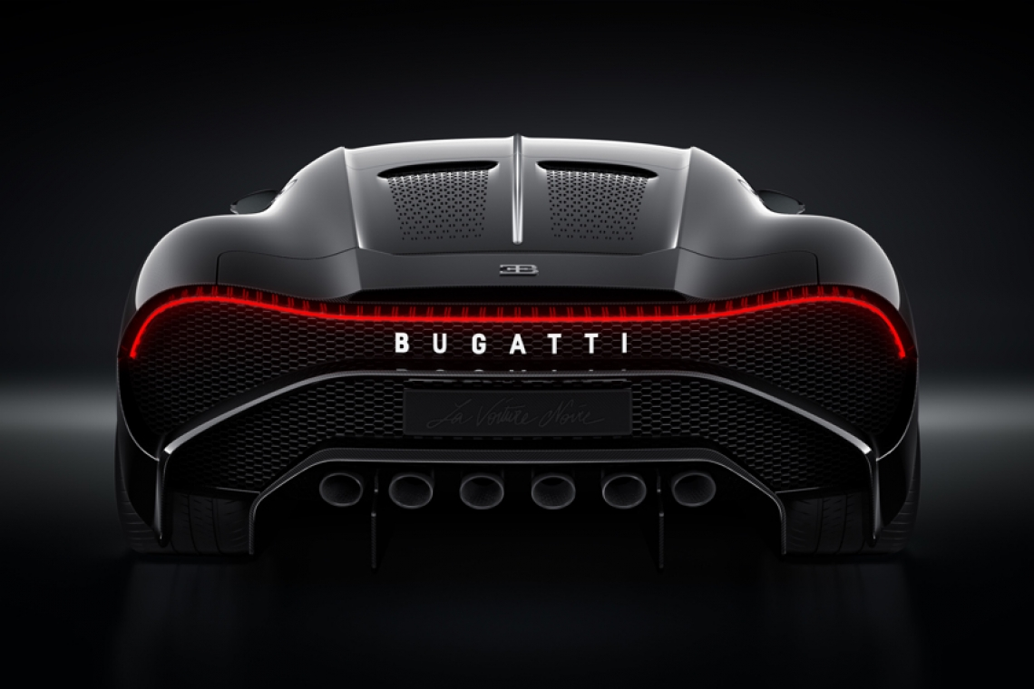 The World's Most Exclusive Bugatti La Voiture Noire To Debut At The Canadian International AutoShow