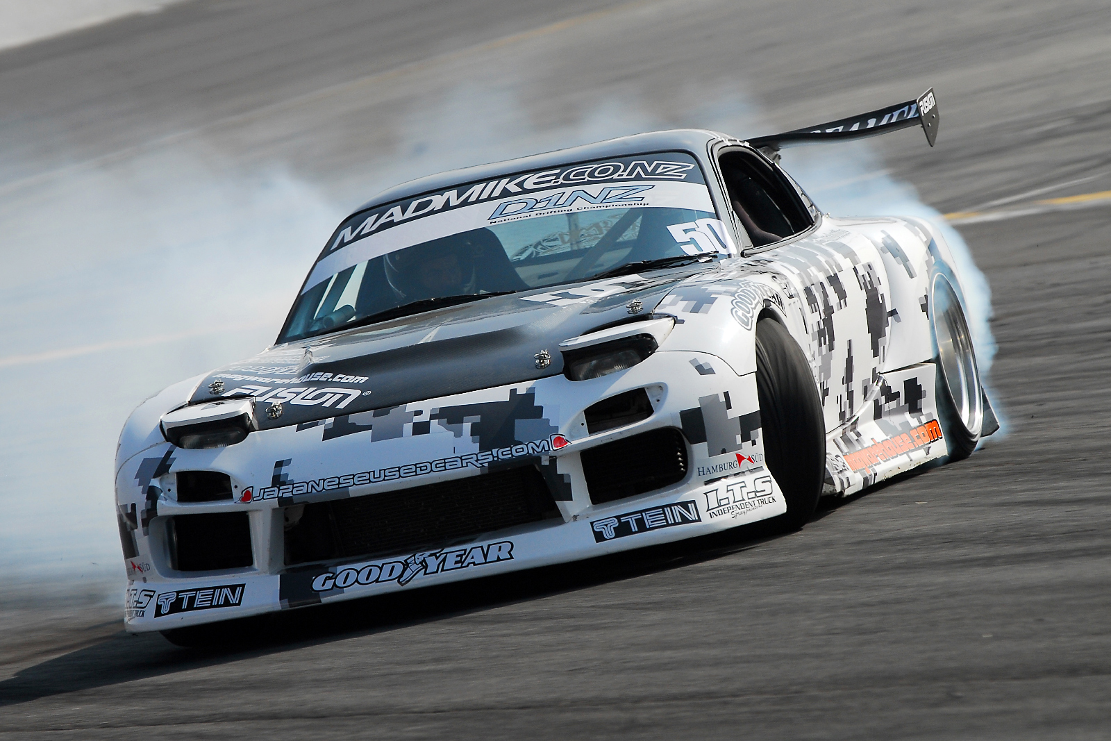 Counter Spin: Mad Mike Whiddett's 1994 Mazda RX-7