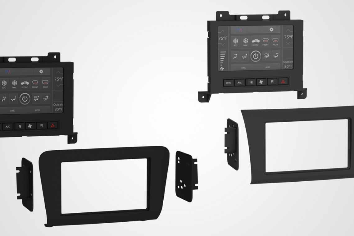 "Metra Electronics® to Launch New TurboTouch® Dash Kits with a Larger 7"" Screen for Dodge and Chrysler"