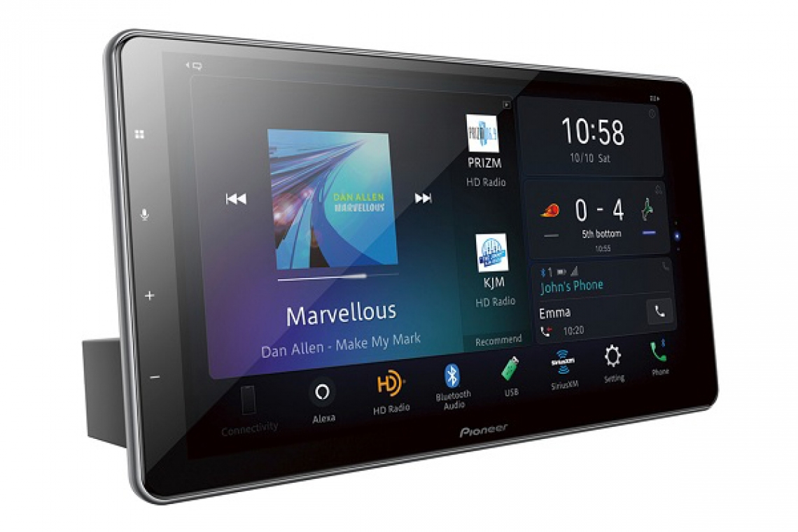Pioneer Debuts Range of NEX In-Dash Receivers With Amazon Alexa Built-In at CES 2020
