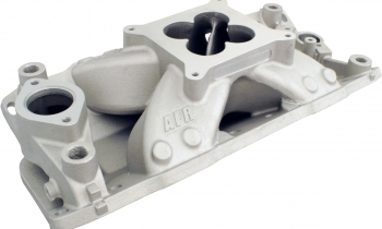 Air Flow Research New SBC Eliminator Dual Plane Intake Manifold For Small Block Chevy