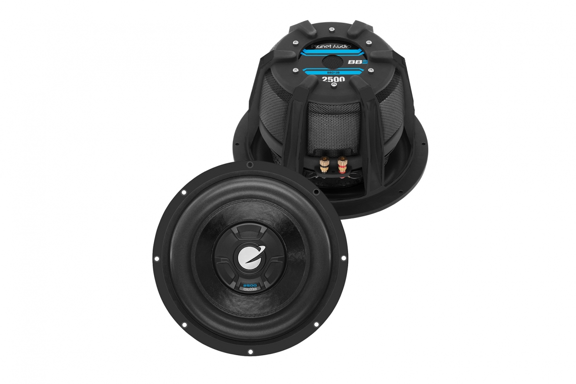 Planet Audio Launches BBD12B 2,500 Watt Subwoofer