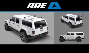 A.R.E. Accessories Expands CX Classic Truck Cap Offering with Application for the Jeep Gladiator