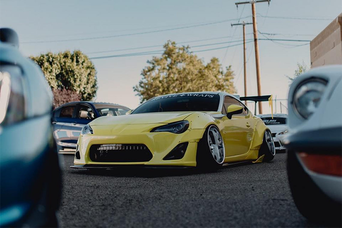 Trust The Process: Isaiah Lucero's 2015 Scion FR-S