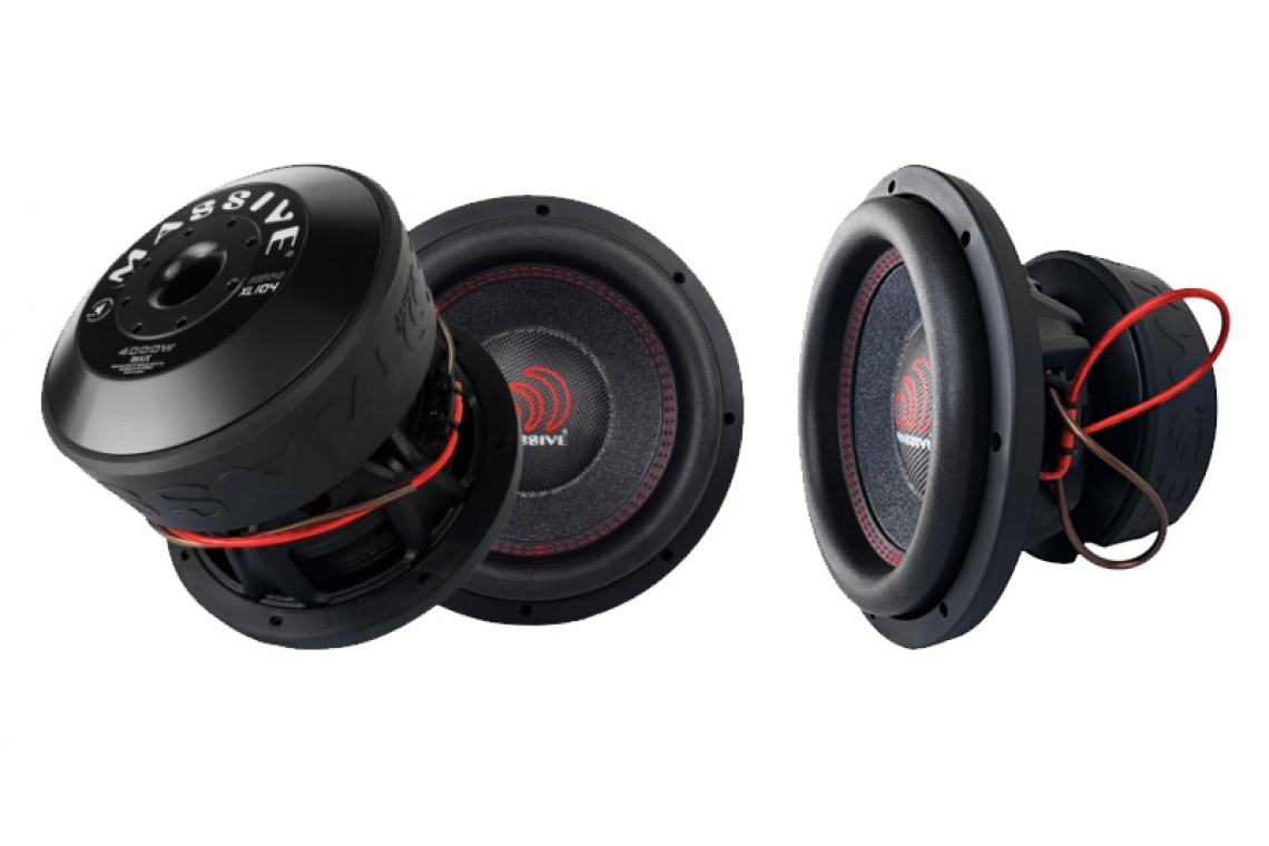 "Massive Audio Introduces the HippoXL10 2000 Watt RMS 10"" Subwoofer"