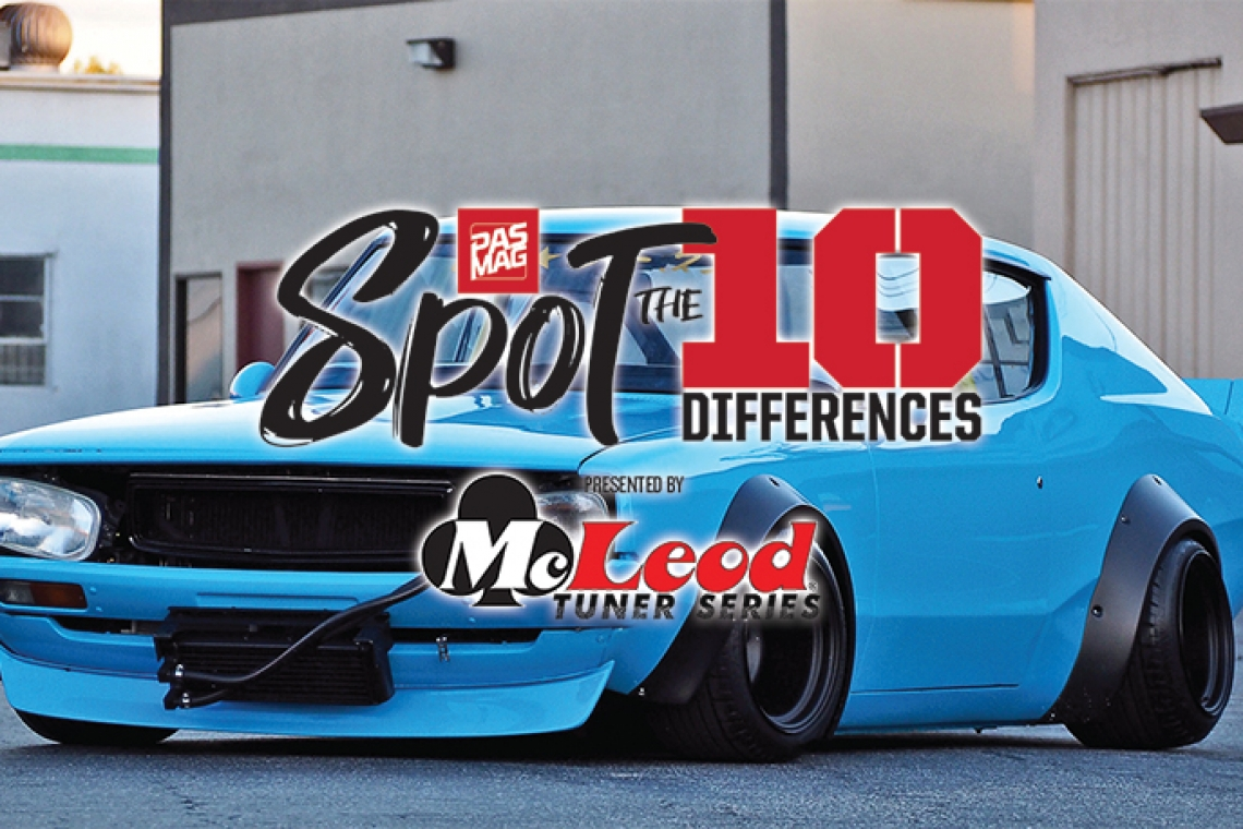 Spot The Differences: Wataru Kato's Liberty Walk Nissan Kenmeri Skyline
