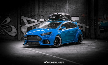 Fortune Flares Widebody Kit for 2016+ Mk3 Ford Focus RS