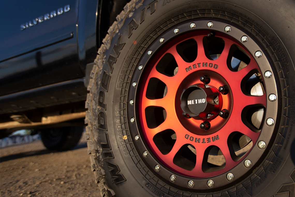 Method Race Wheels: All New Limited Edition Matte Black - Red Face 305 NV