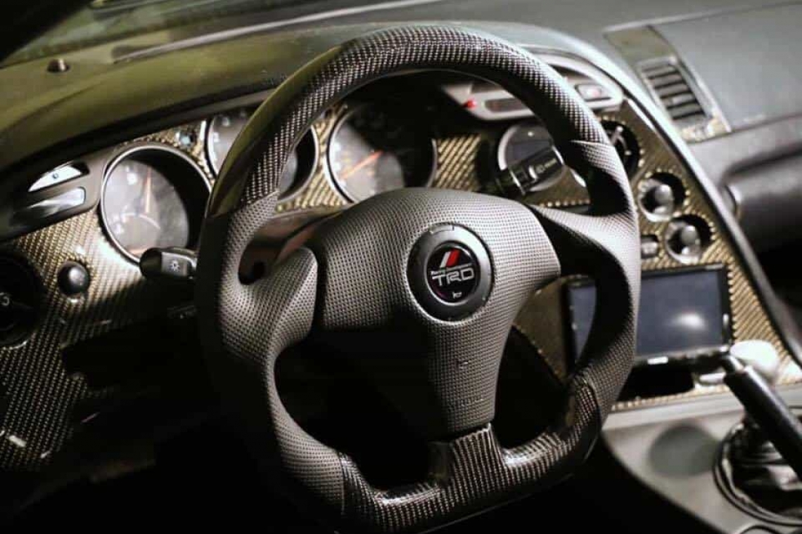 SoCal Garage Works Custom Steering Wheel for 1993-2002 Toyota Supra