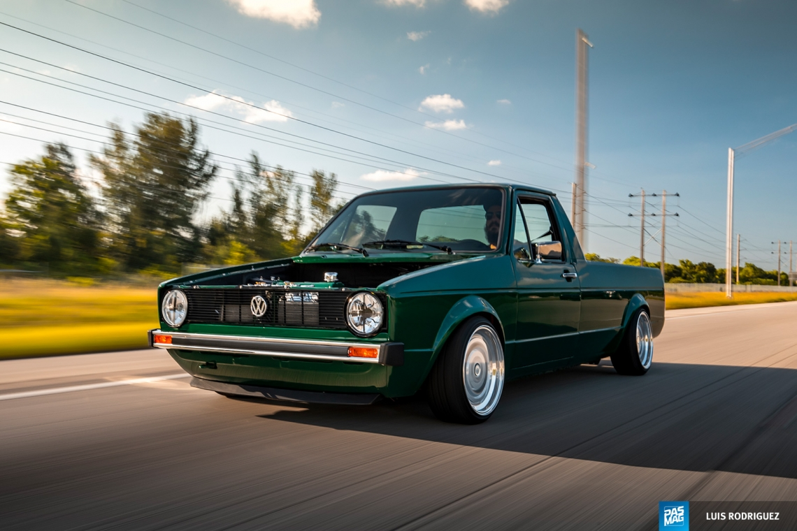 Caddy Shack Juan Ragusa S 1982 Volkswagen Rabbit Pickup Pasmag Is The Tuner S Source For Modified Car Culture Since 1999