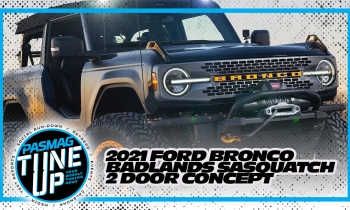 2021 Ford Bronco Badlands Sasquatch 2 Door Concept