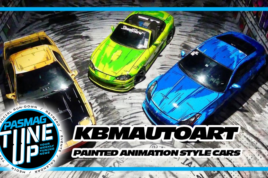 KBM Auto Art: Painted Initial D Animation Style Cars