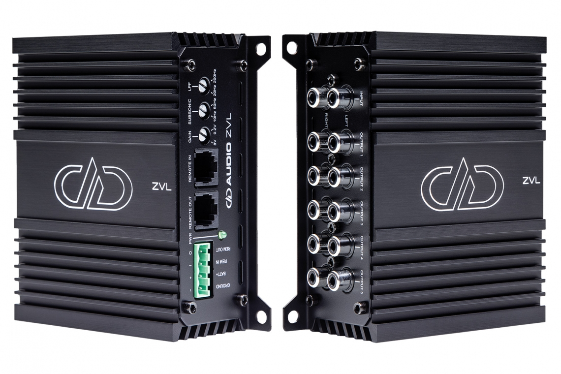 DD Audio ZVL Multi Amplifier Synching Module