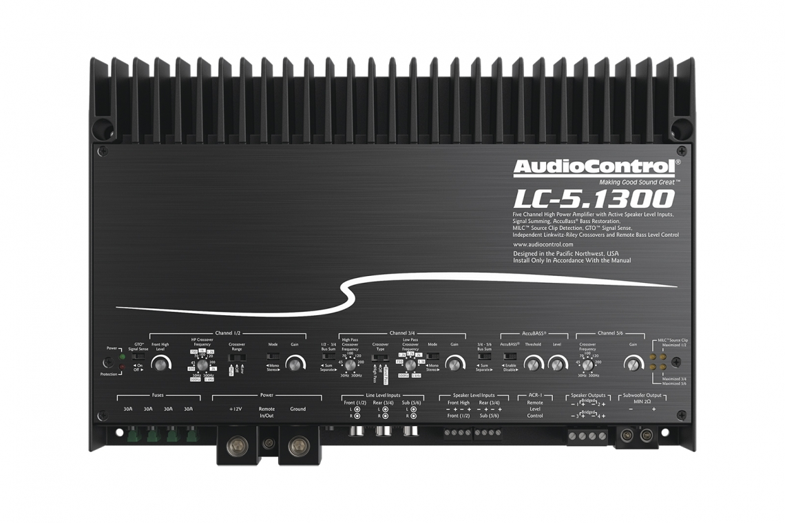 AudioControl LC-5.1300 Amplifier