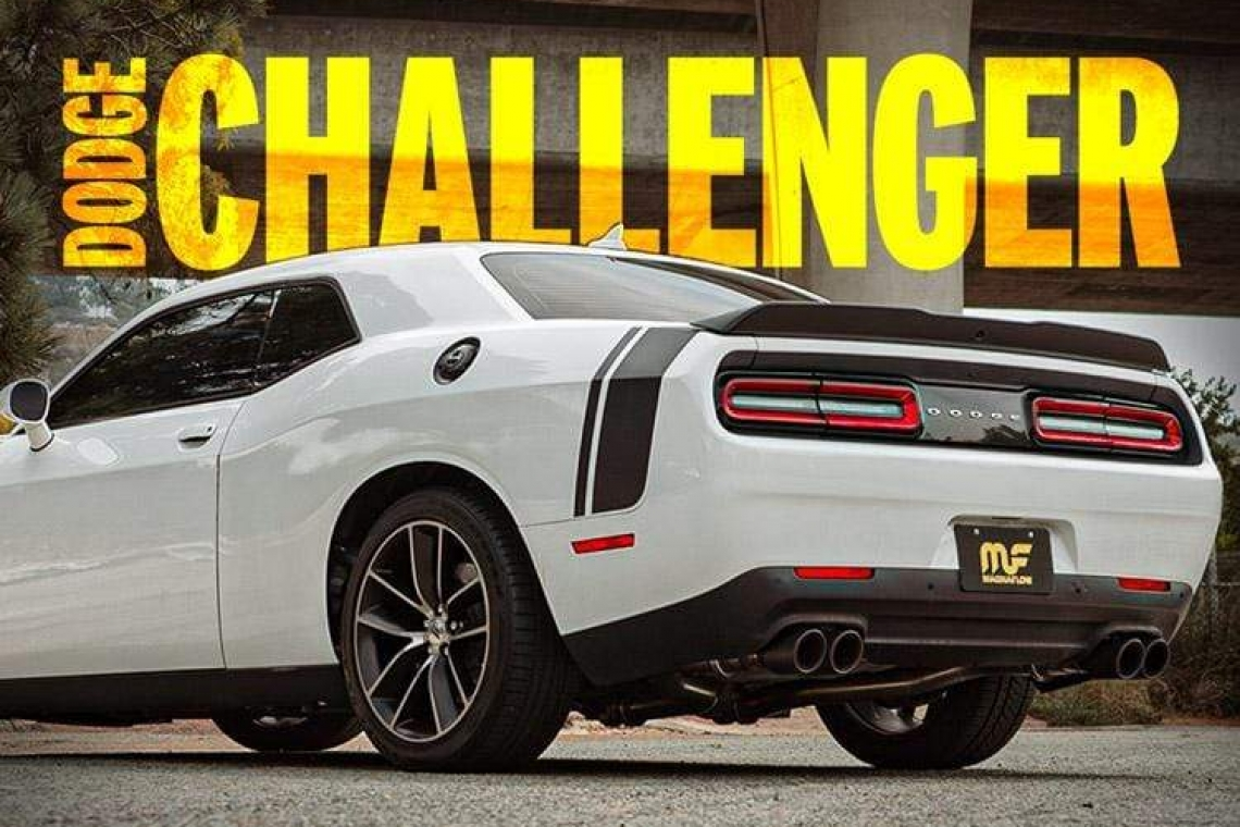 MagnaFlow Dodge Challenger XMOD Series Cat-Back Performance Exhaust System