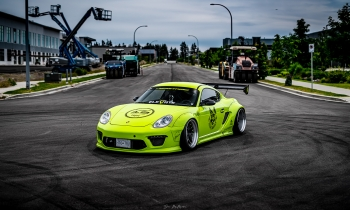 Lime Green is the New Black: Clifford Joe's 2008 Porsche Cayman