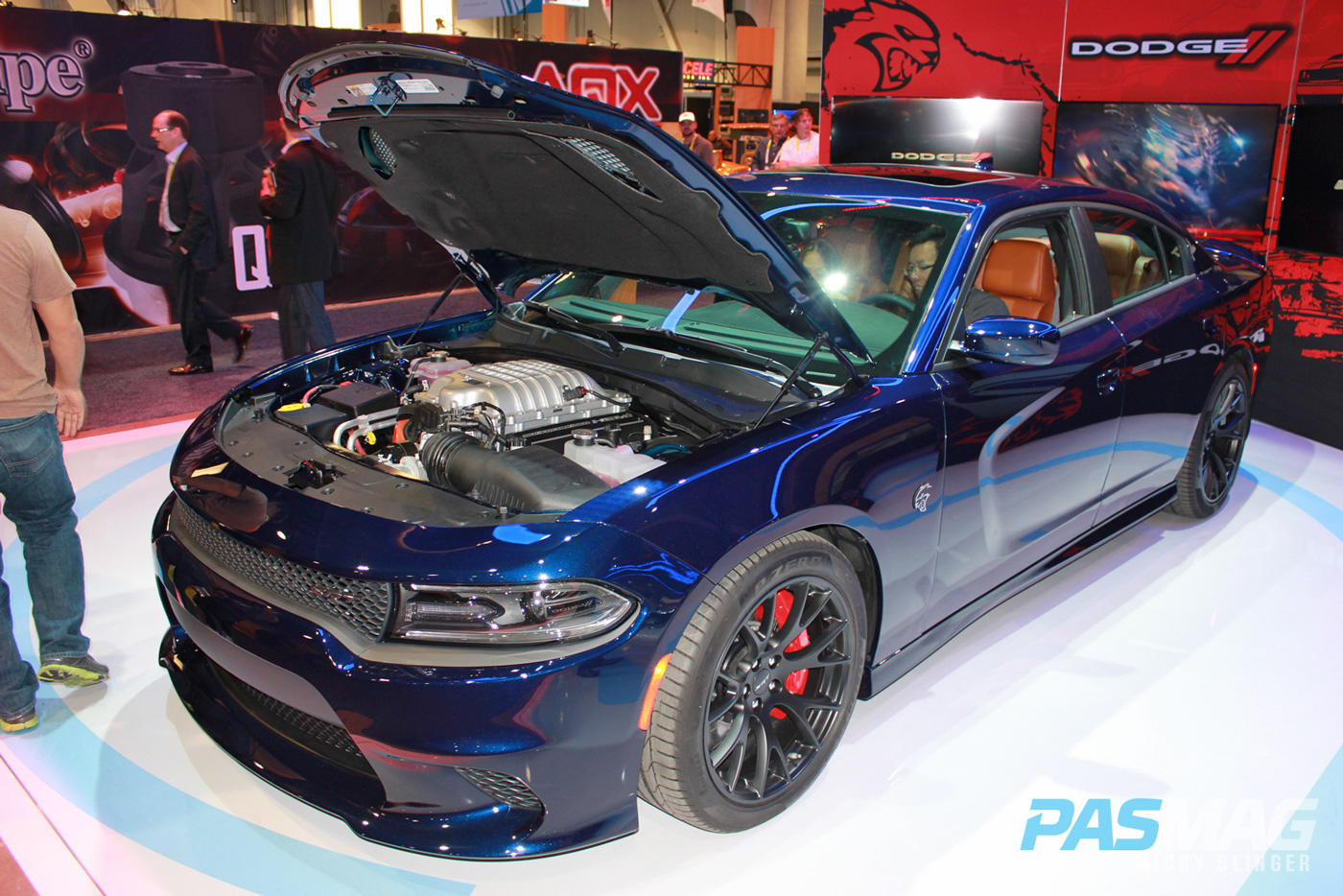 PASMAG CES 2015 Las Vegas NV ARC Audio Chip Foose Dodge Charger Wirez