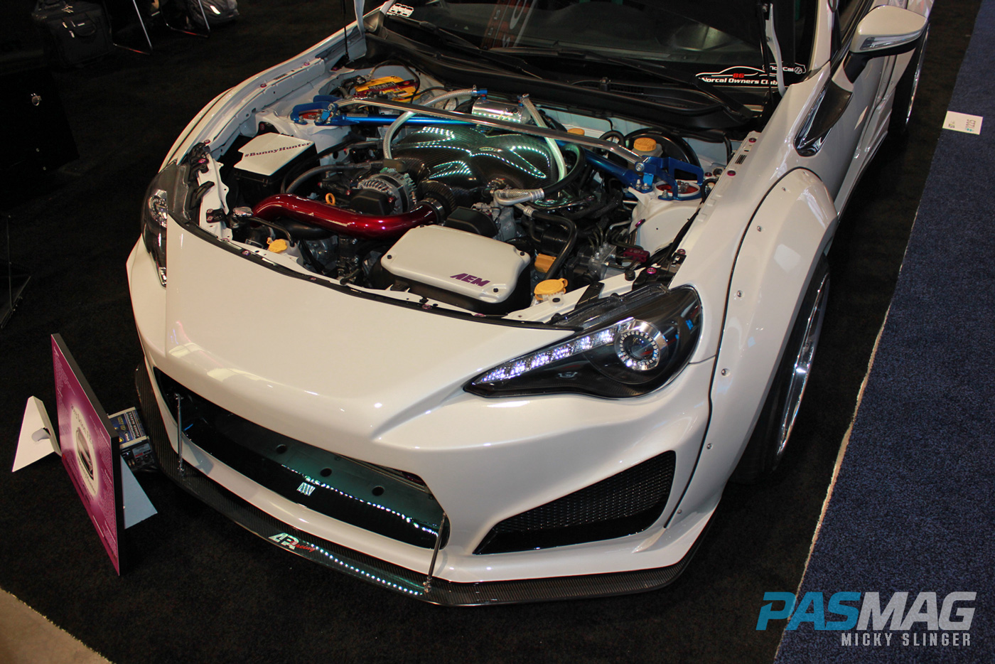PASMAG CES 2015 Las Vegas NV BunnyHunter Scion FRS ARC Audio engine