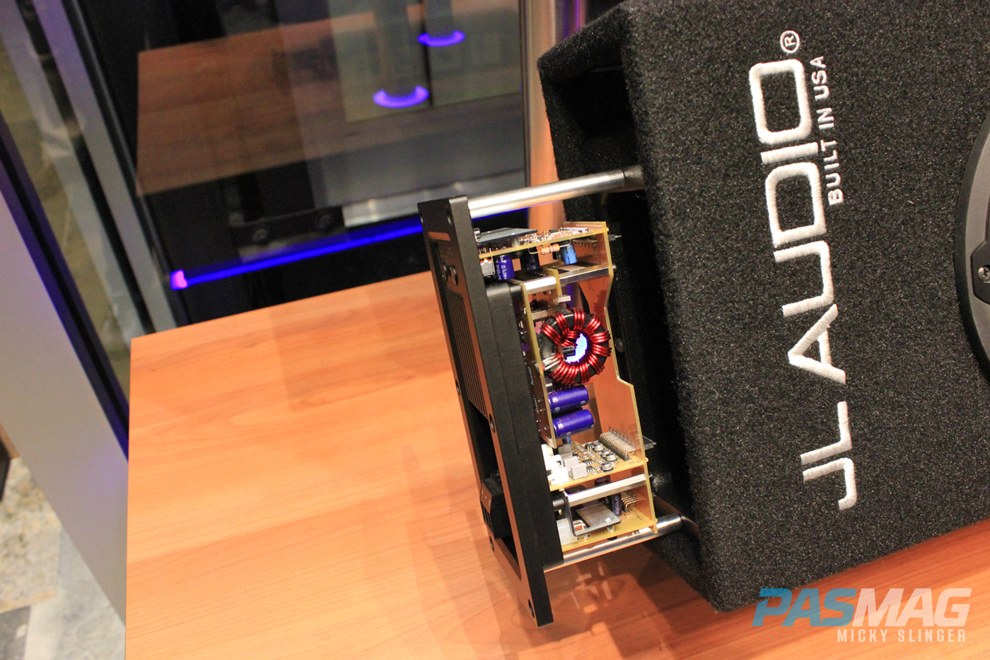 PASMAG CES 2015 Las Vegas NV JL Audio Powered Subwoofer