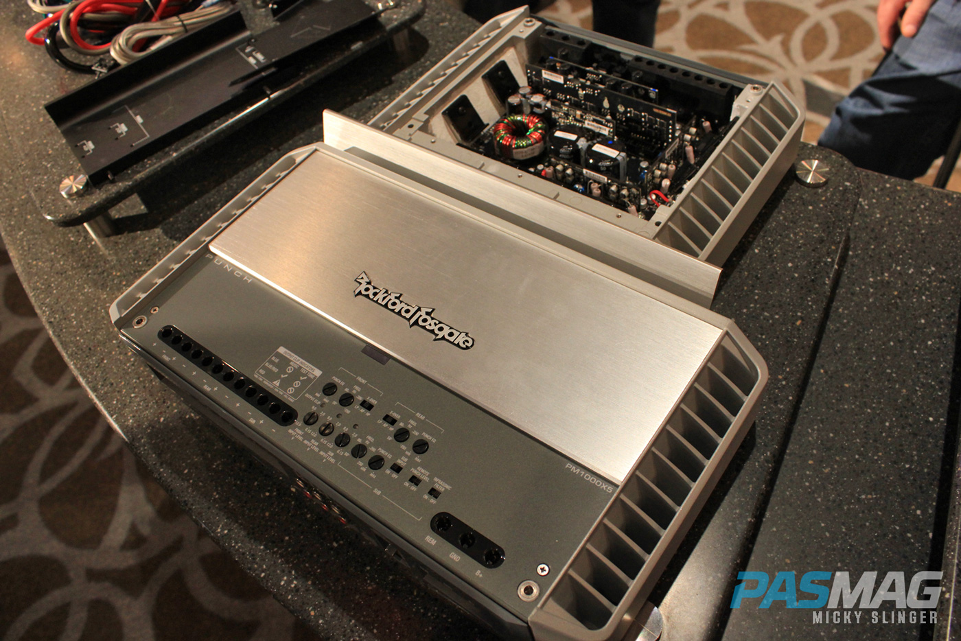 PASMAG CES 2015 Las Vegas NV Rockford Fosgate Punch Amplifier