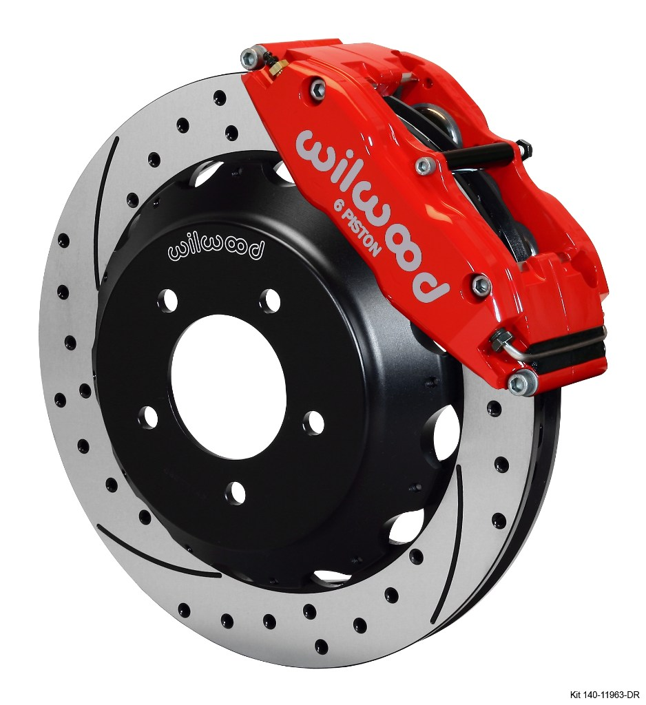 Wilwood's brake kit for the 1991-1996 Mazda RX-7