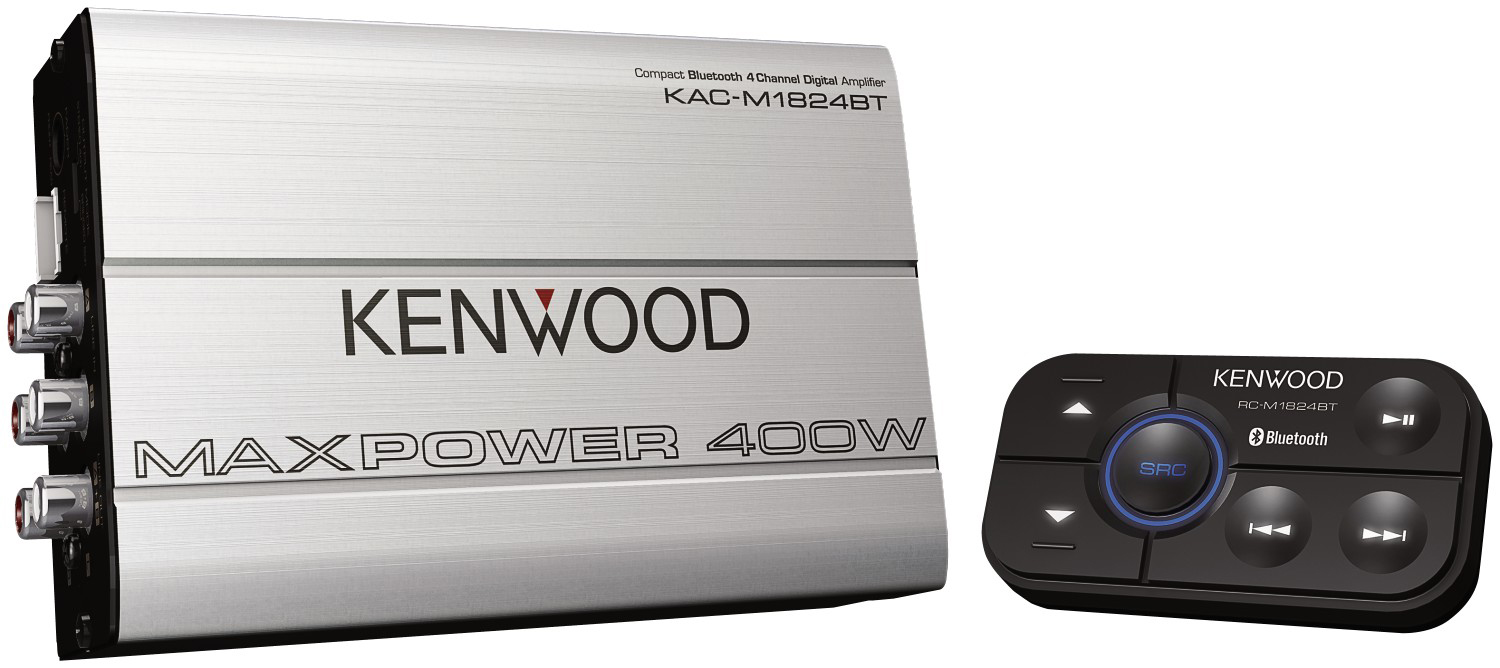 PASMAG JVC Kenwood Bluetooth Amplifier KWKAC-M1824BT