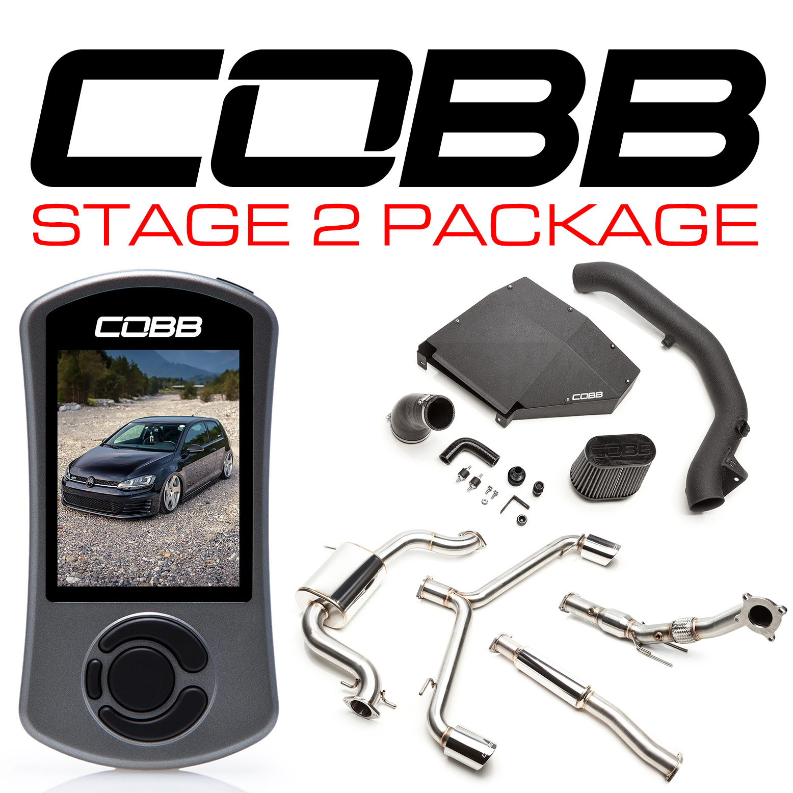 COBB Tuning Mk6 GTI Stage 2 Power Package - PASMAG - since