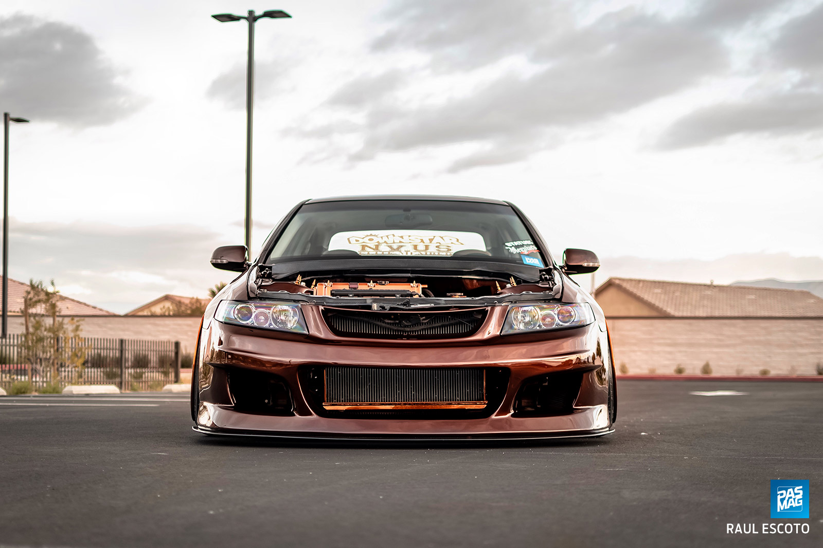 Front Runner Jesus Sanchez S 2005 Acura Tsx Pasmag Is The Tuner S Source For Modified Car Culture Since 1999