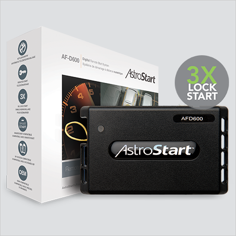 AstroStart AF D600 DIGITAL Remote Start System pasmag