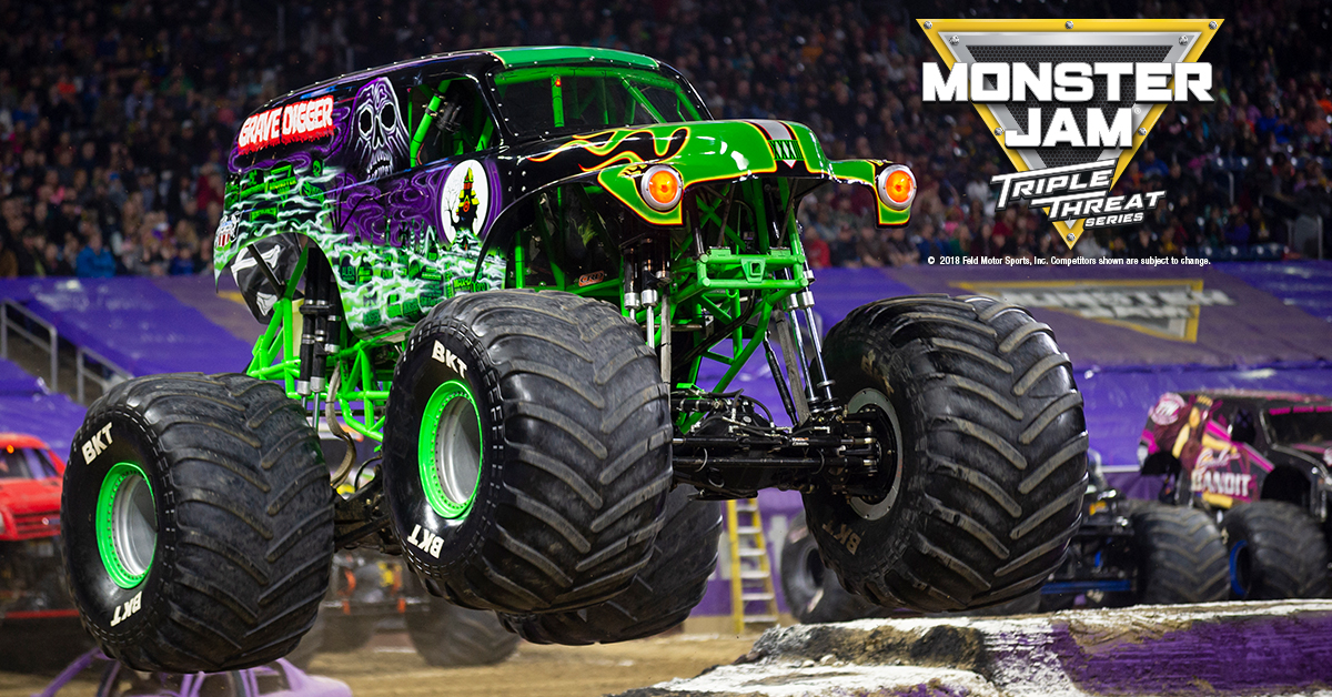 01 Monster Jam Toronto June 21 22 23 2019