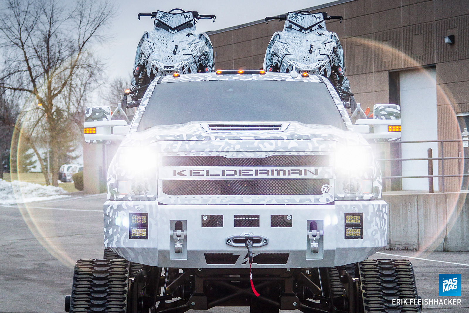 Tracks on Tracks: David Fischer's 2016 Chevrolet Duramax
