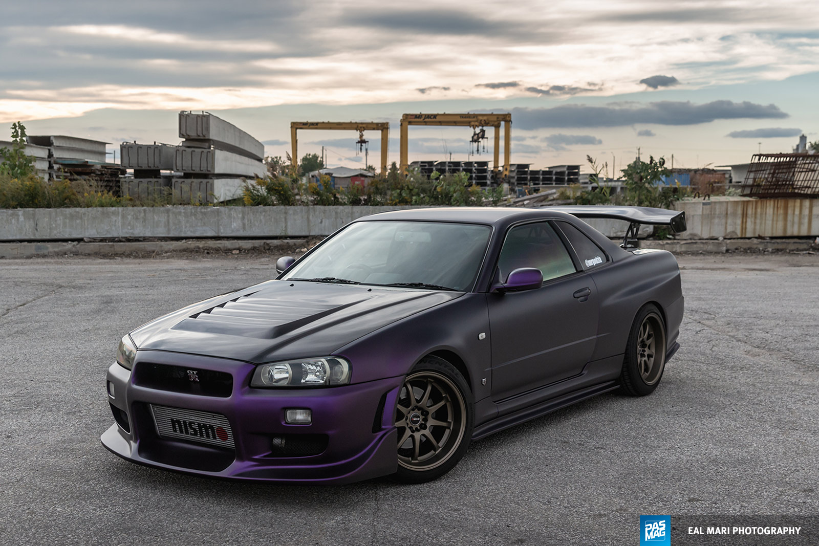 04 Mike Recine 1999 Nissan Skyline GTR pasmag Eal Mari Photography