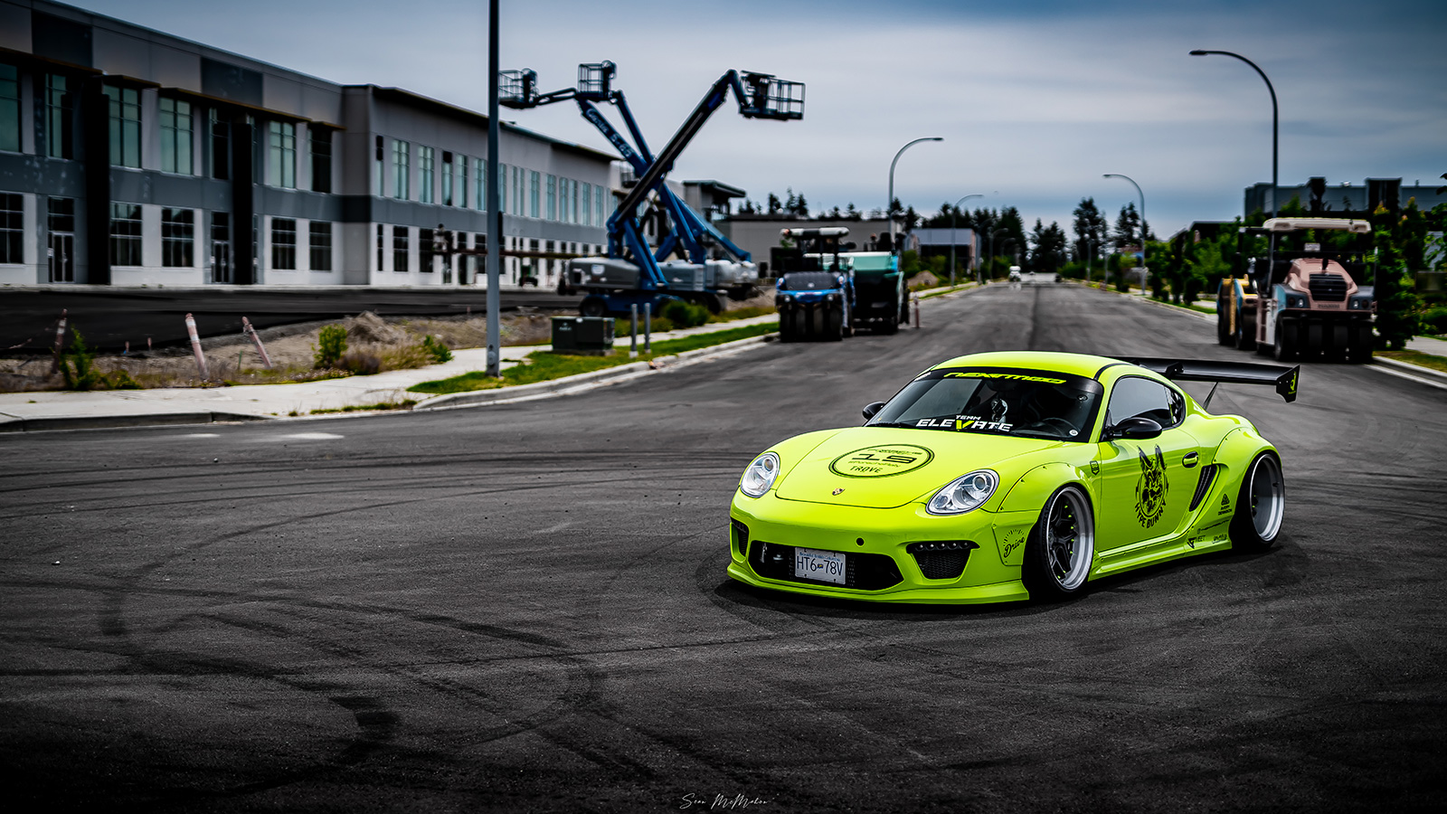 19 Clifford Joe 2008 Porsche Cayman Tuner Battlegrounds PASMAG