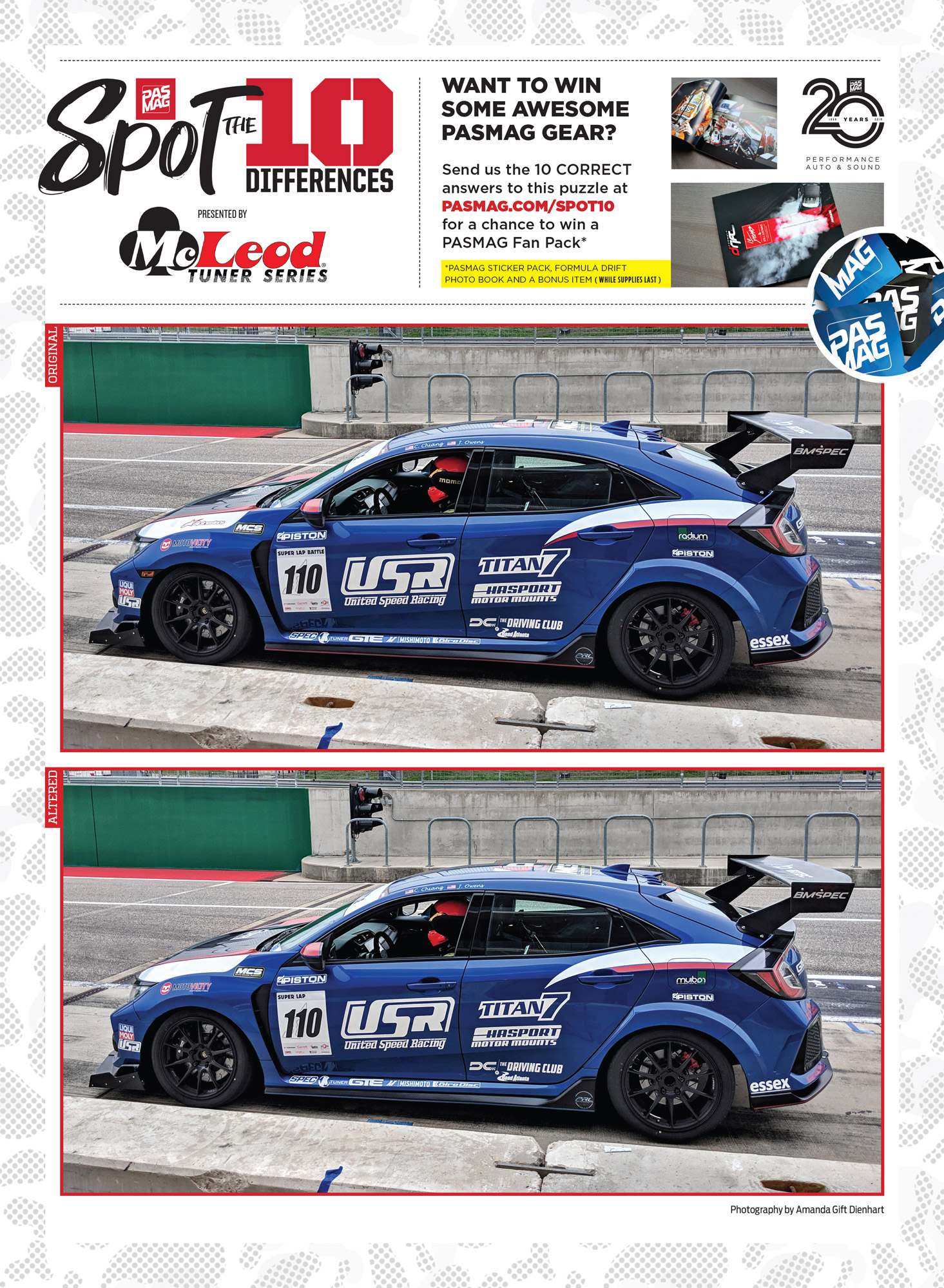 PASMAG Spot the Differences Apr 30 2020 United Speed Racing 2017 Honda Civic Type R FK8