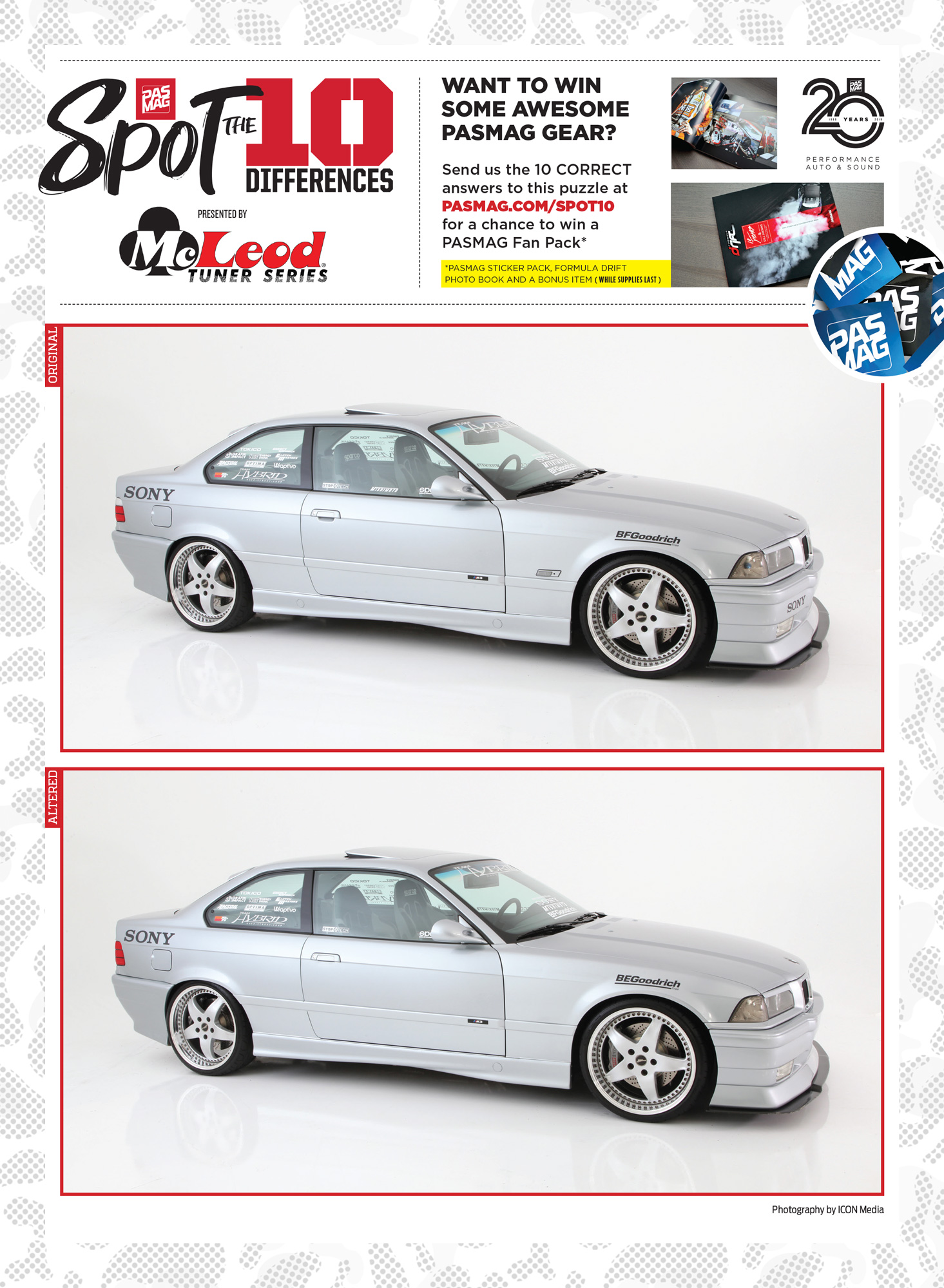 PASMAG Spot the Differences June 5 2020 James Lin Team Hybrid 1996 BMW 328i pasmag