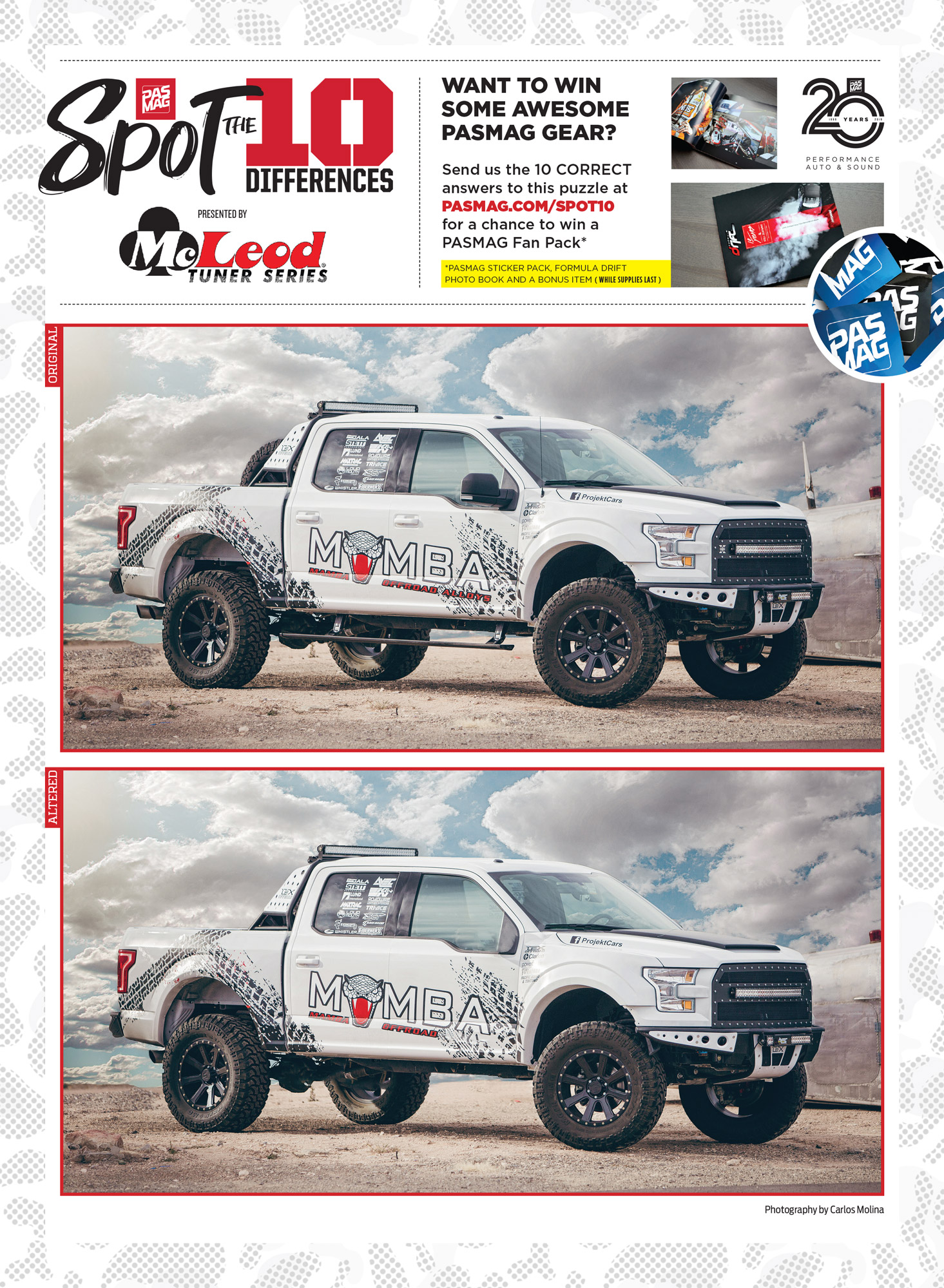 PASMAG Spot the Differences May 18 2020 Alma Molina 2015 Ford F150 EcoBoost pasmag