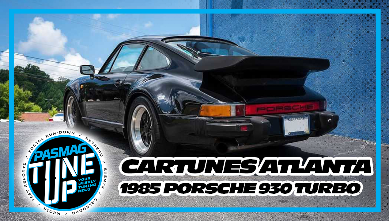 Cartunes Atlanta Upgraded 1985 Porsche 930 Turbo Pasmag Is The Tuner S Source For Modified Car Culture Since 1999