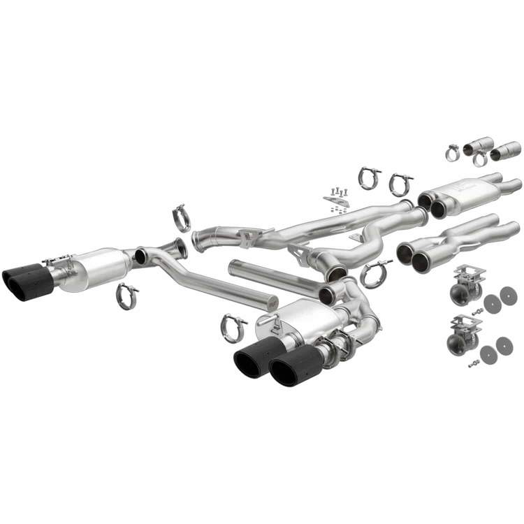 MagnaFlow Ford Mustang XMOD Series Cat Back Performance Exhaust System pasmag 01
